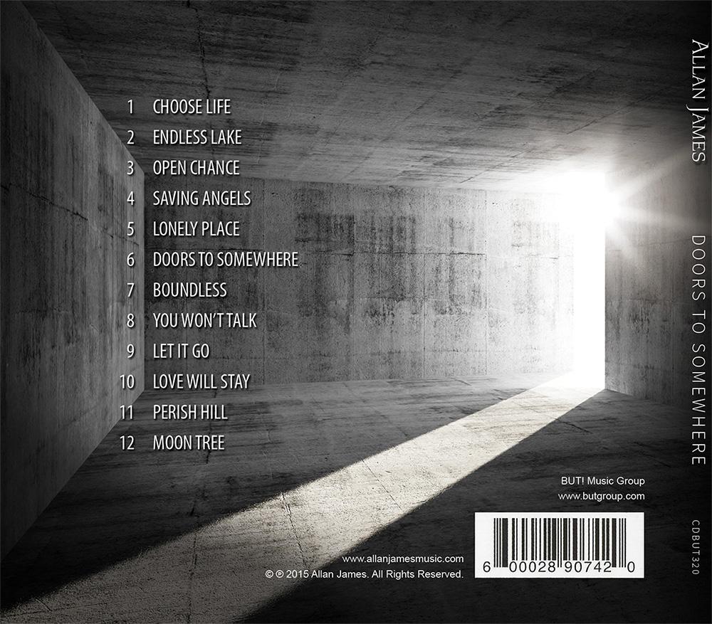 Allan James - Doors to Somewhere (back)