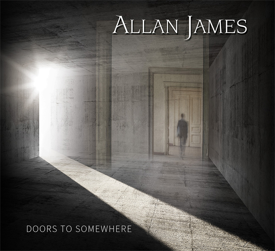 Allan James - Doors to Somewhere (front)